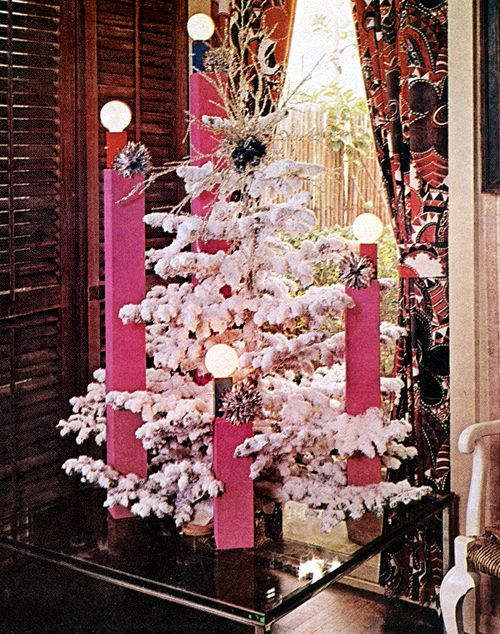 Here S Some Great Examples Of Late Holiday Decorating All These Christmas Trees Are From A 1969 Issue Better Homes Gardens