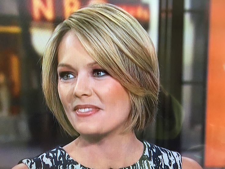 Dylan Dreyer on Today, 4-6-17, front view of her gorgeous haircut