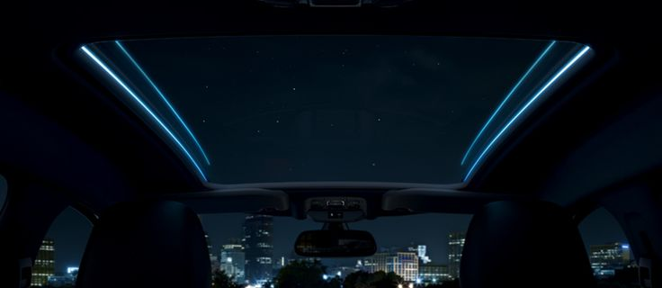 Panoramic roof of the #Peugeot2008 #Peugeot #Roof