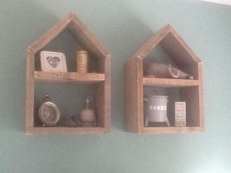 babykamer. Wandhuisjes gemaakt door M Style www.mstyle-interieur.nl