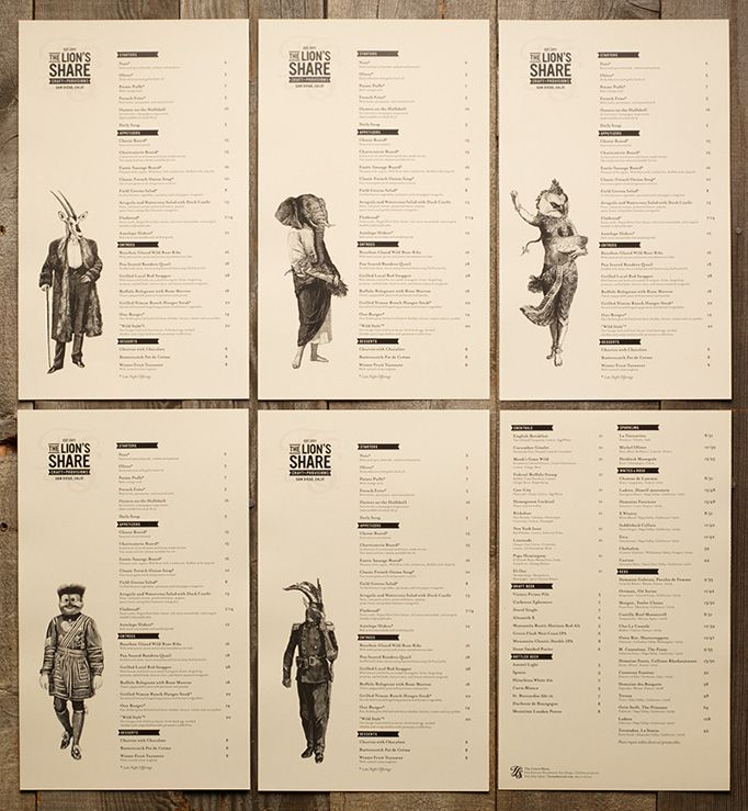 menu design, white space - Google Search