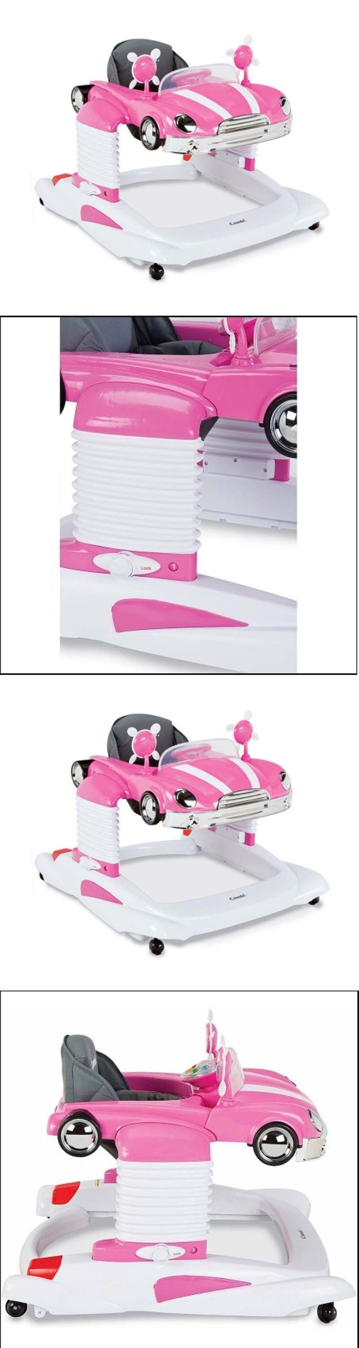Baby Co-Sleepers 121152: Mobile Walker For Baby Pink Entertainer Toddler Practice Walk Stand Position -> BUY IT NOW ONLY: $150.62 on eBay!