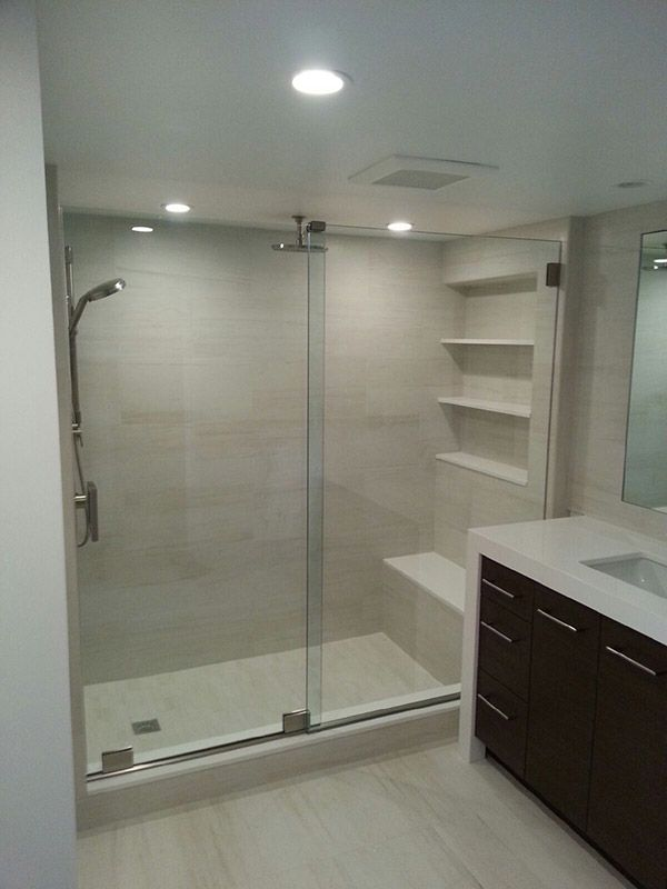 Frameless Shower Doors Coral Springs In 2020 Duschwand Glas