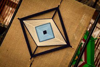 tecendo a vida: Mercadoras da Arte celebram Chico Buarque 4 point mandala ojo de dios