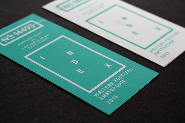 INDEX WRITERS FESTIVAL on Behance