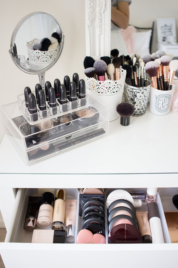 My Dressing Table and Makeup Collection Orange eyeshadow