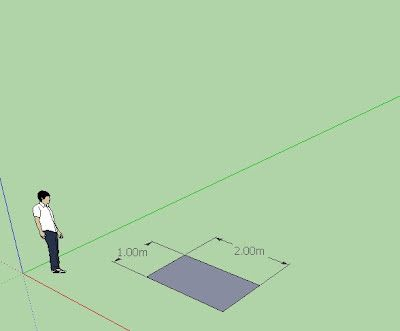 Quick Sketchup Help (Alpha): QuickSketchup Ruby : หาพื้นที่จากผิวที่เลือกเป็นตารางเมตร