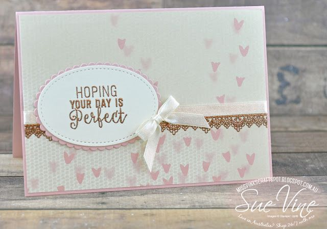 Miss Pinks Craft Spot: Delicate Details | #WWYS106