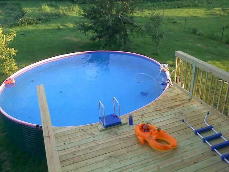 32 best images about grain bins on pinterest pool houses raised garden beds and house for How to build a grain bin swimming pool
