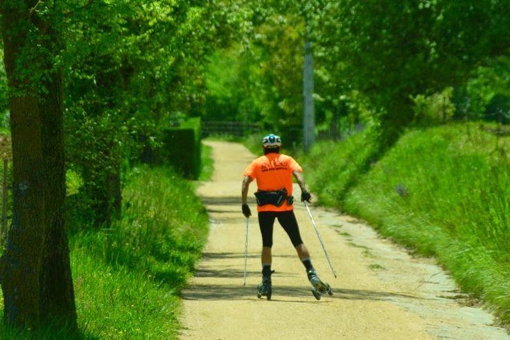 ESQUÍ SOBRE RUEDAS: Aventura sobre ruedas