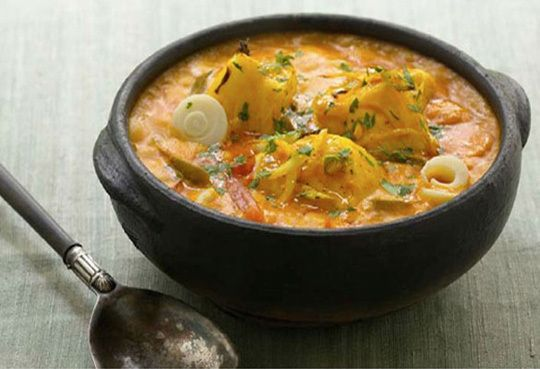 Moqueca - Brazilian Fish Stew - Dende oil is also known as palm oil. I had to look it up. :-)