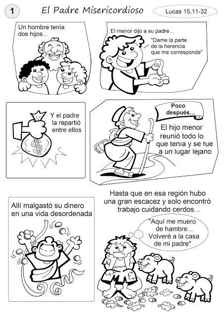 El Rincón de las Melli: HISTORIETA: El Padre misericordioso (texto adaptad...