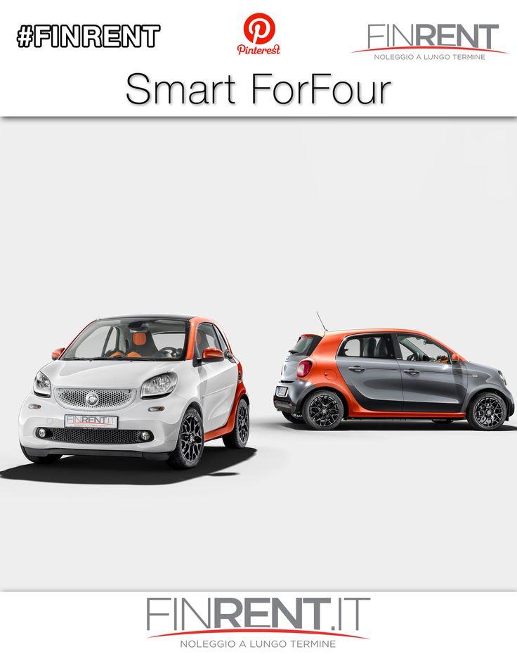 SMART ForFour | Finrent.it http://www.finrent.it/smart-forfour-402931/ Con la versione a 5 porte della nuova #Smart si torna ad avere la possiblità di trasportare anche due passeggeri sul divano posteriore. Ecco la nuova ##SmartForFour #Finrent