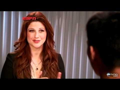 Rachel Nichols on espn. love her hair.