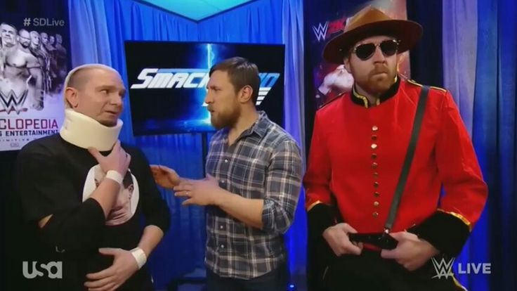 Dean Ambrose, Daniel Bryan, James Ellsworth