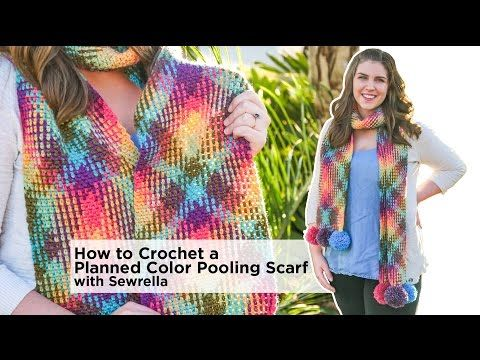 Sewrella Teaches You Color Pooling! It's yarn magic! - Lion Brand Notebook