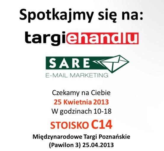 Kolejny tydzień aktywnie. Już jutro zapraszamy do Poznania, na Targi eHandlu. Odwiedzić Nas będzie można na STOISKU C14. Zapraszamy!:)
