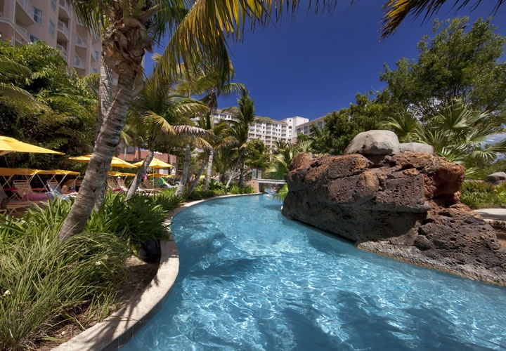 Lazy River, Marriott Surf Club Hotel  Resort, Aruba