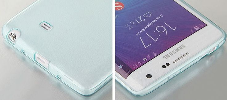 Cheap Slim Pink Silicone Samsung Galaxy Note Edge Case SGNE02_23