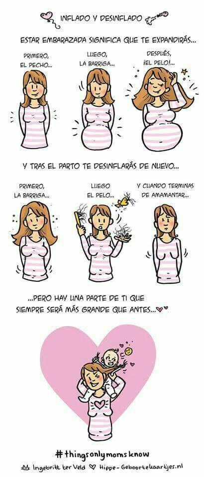 Son nuestras heroínas!#mama #meme #espana #embarazo #bebe #rosaoazul