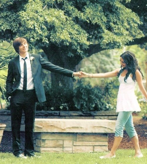 HSM--aka-- display of engagement pic please(=