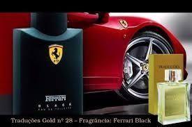 Traduções Gold Hinode nº28 Referencia Olfativa: Ferrari Black