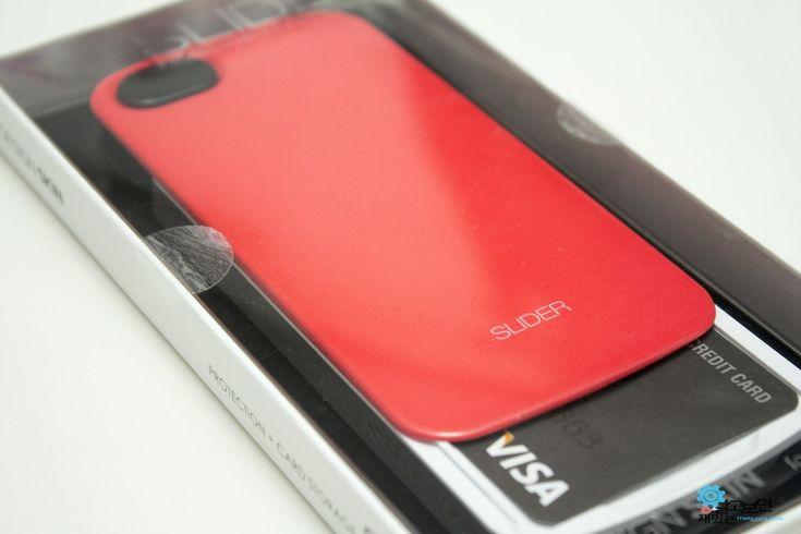 아이폰5/5S 카드수납형 케이스 디자인스킨 슬라이더 (DESIGN SKIN SLIDER) 핫핑크 리뷰