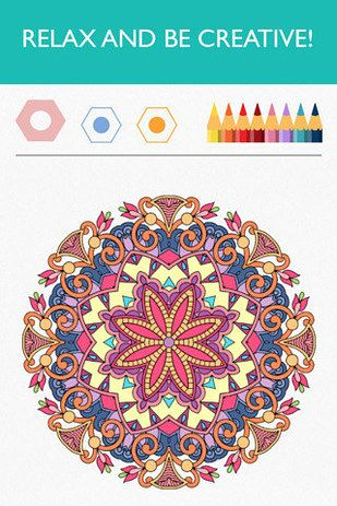 Try a beautiful and soul-soothing coloring app.