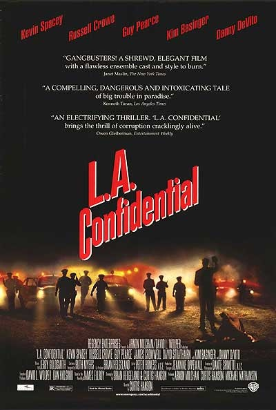 L.A. Confidential was the best film of 1997 and one of my all-time favorites. I will never understand how Titanic won the Academy Award for Best Picture over this one.