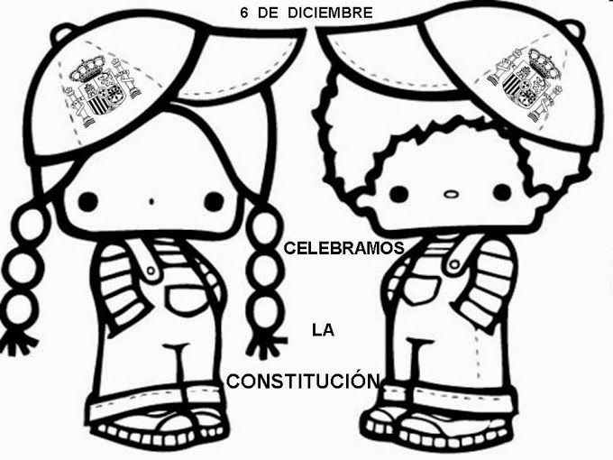 Maestra De Primaria La Constitucion Espanola Para Ninos Explicacion Bandera Escudo Juegos Fic Dia De La Constitucion Constitucion Para Ninos Constitucion