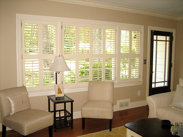 Plantation Shutters  Living Room And Front Bedroom Part 59
