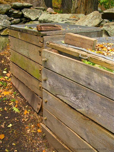Compost containers...