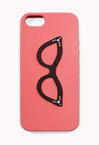 Retro Cat-Eye Glasses Phone Case