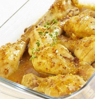 Медово-горчичный соус для курицы на гриле