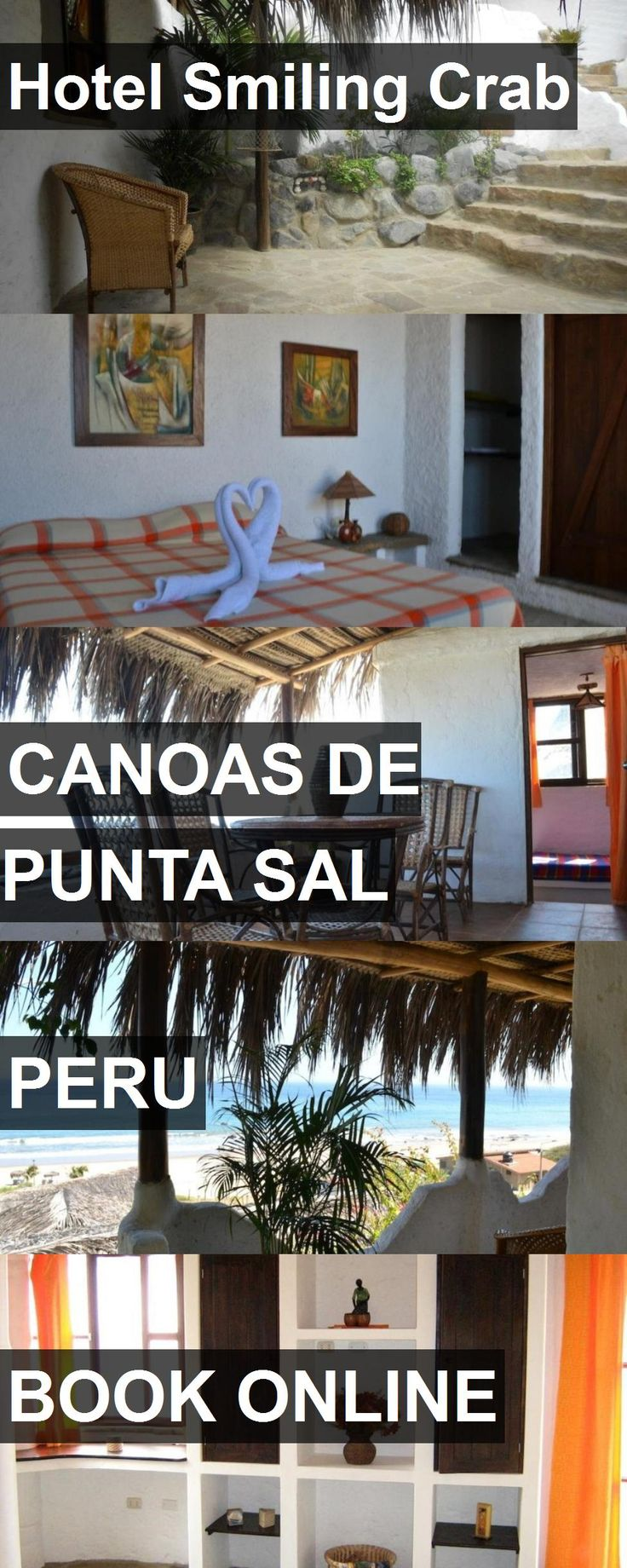 Hotel Hotel Smiling Crab in Canoas De Punta Sal, Peru. For more information, photos, reviews and best prices please follow the link. #Peru #CanoasDePuntaSal #HotelSmilingCrab #hotel #travel #vacation