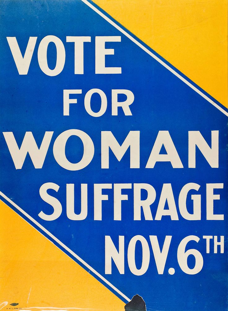 Don't take the right to vote for granted — women have had the vote for less than a century!