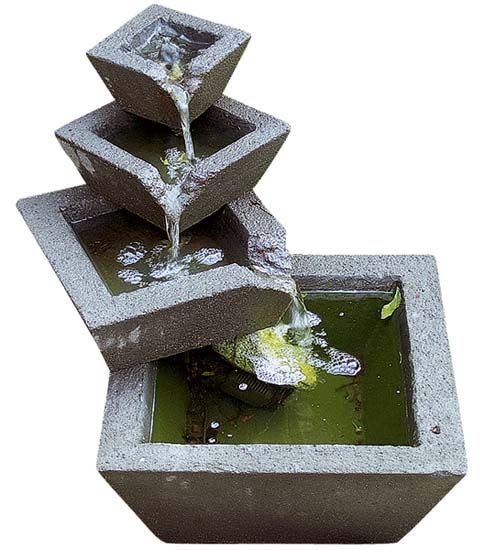 25 best ideas about waterfall fountain on pinterest diy for Easy diy outdoor water features