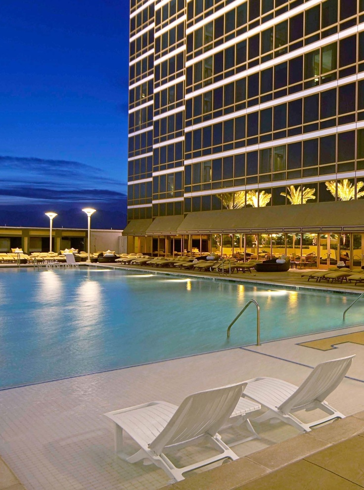 We're spending our last summer nights by the pool! #Relax #Chill #Summer