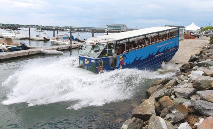Historical Narrated Duck Boat Tours of Portland, ME