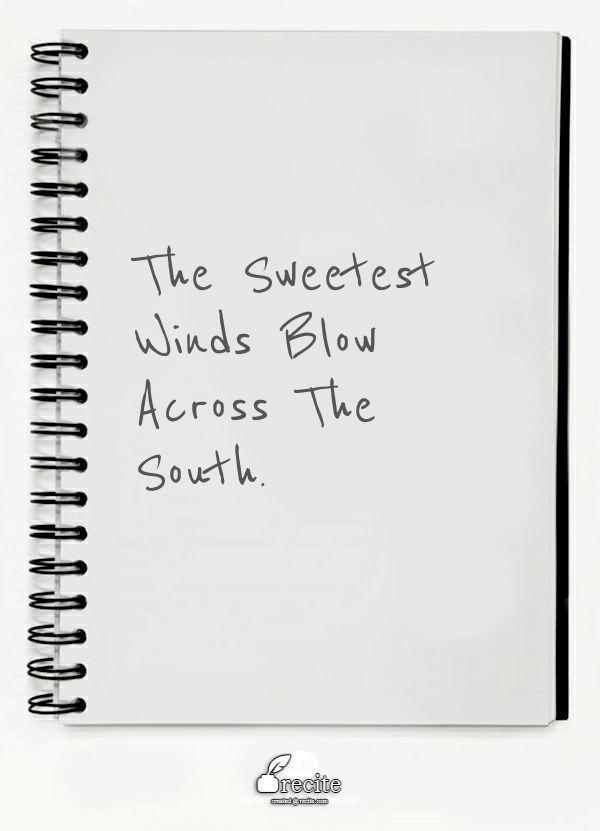 Oh My Sweet Carolina. Ryan Adams.  Recite.com - Create beautiful visual quotes as images