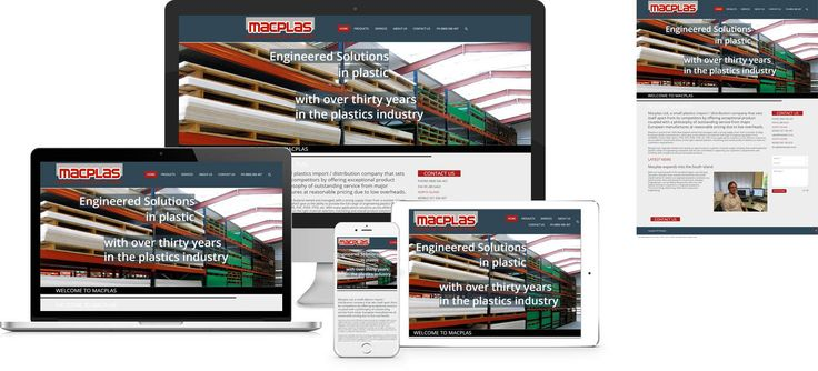Forge Online creates yet another stunning example of contemporary and functionally powerful Open Source website design for Macplas.