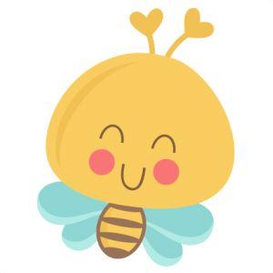 Cute Bee SVG scrapbook title SVG cutting files bee svg cuts bee svg cut files for scrapbooking Af
