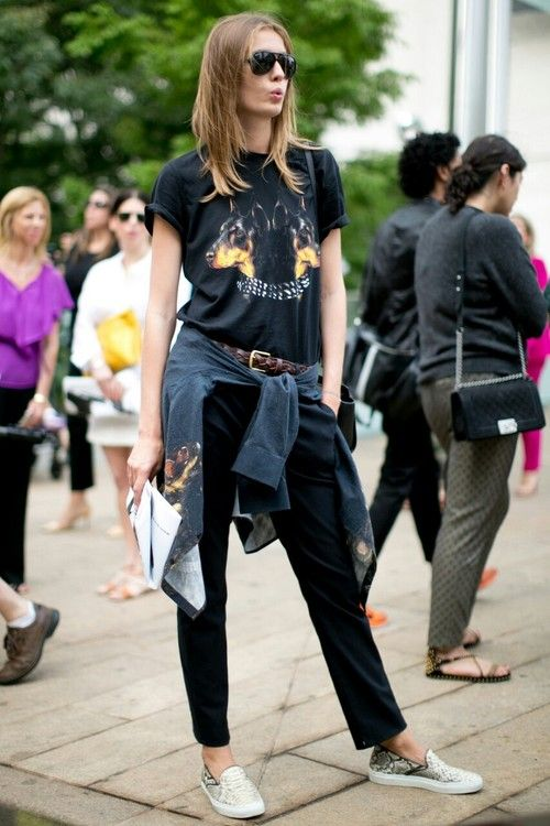 Models Off Duty Wear Pinterest
