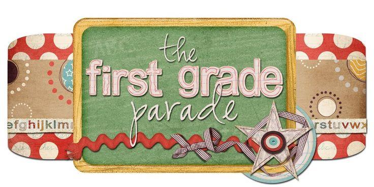 The First Grade Parade: Meet The Teacher Ideas & Downloads