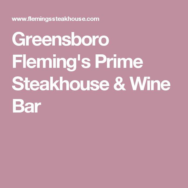 Greensboro Fleming's Prime Steakhouse & Wine Bar
