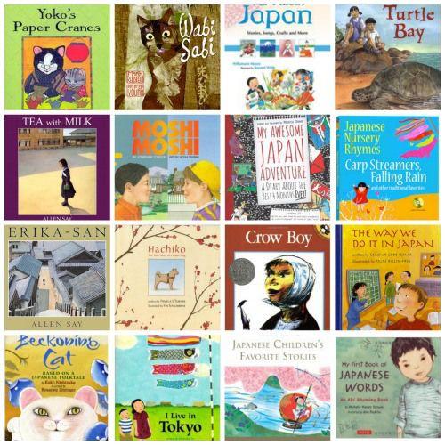 Books about Japan for Kids- Kid World Citizen @KidWorldCitizen