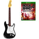 Rock Band 4 Wireless Fender Stratocaster Guitar Controller Bundle - Xbox One, Multi