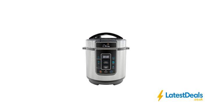 Pressure King Pro (3L) – 8-in-1 Digital Pressure Cooker Free Delivery, £39.99 at High Street TV