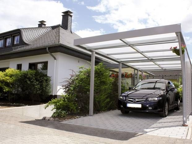 eine verglaste dacheindeckung spendet viel licht foto epr siebau carport pinterest design. Black Bedroom Furniture Sets. Home Design Ideas