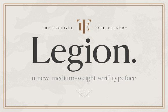 Legion by Esquivel Type Foundry on @creativemarket
